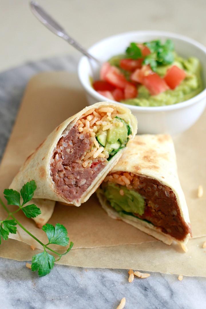 Are Burritos Healthy  Healthy Make Ahead Burritos Yummy Mummy Kitchen