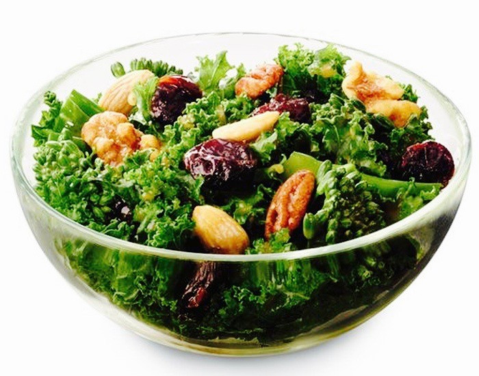 Are Chick Fil A Salads Healthy  Chick fil A replaces coleslaw with kale salad