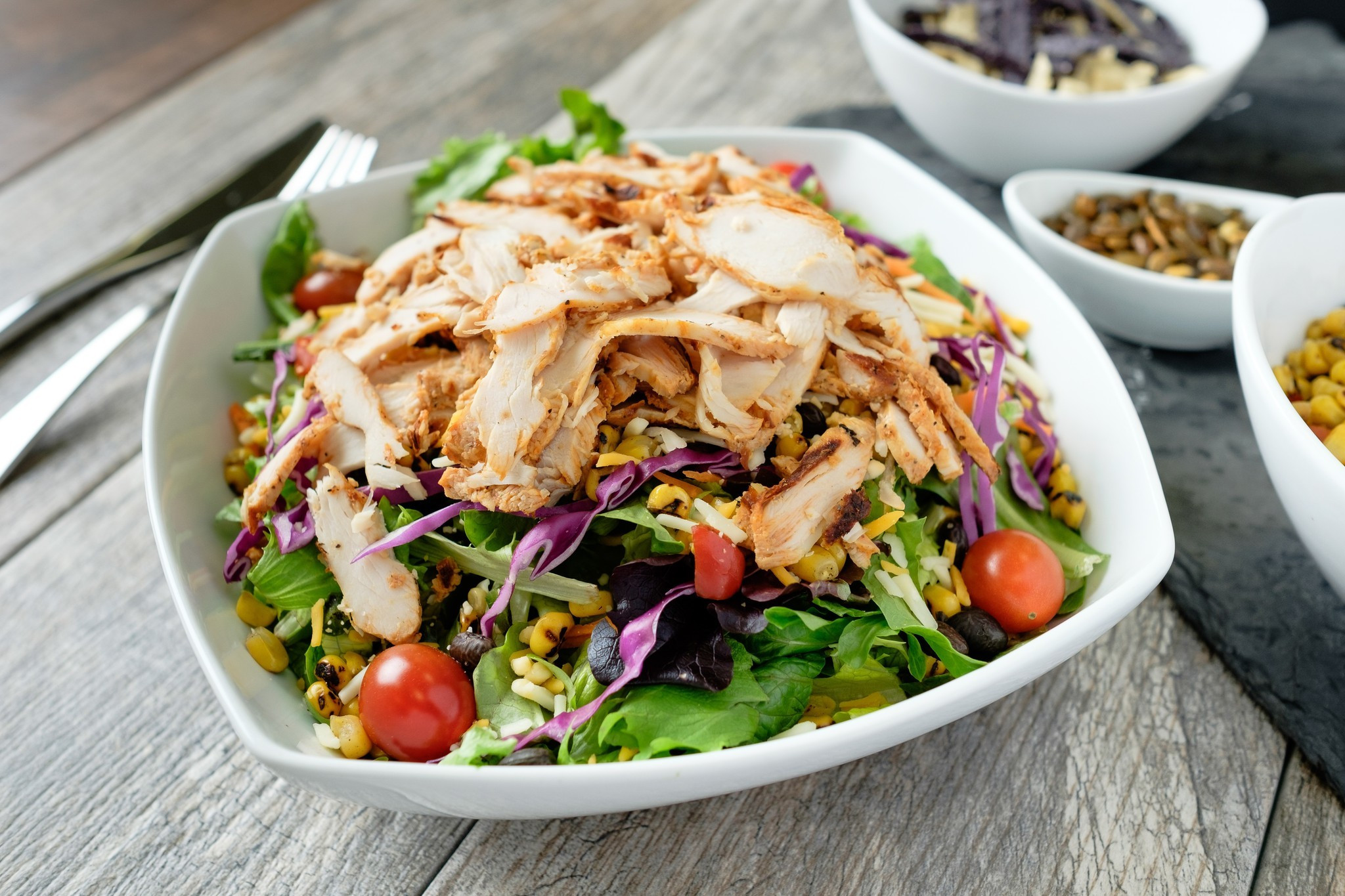 Are Chick Fil A Salads Healthy  Chick fil A spices up spring menu with 2 new salads