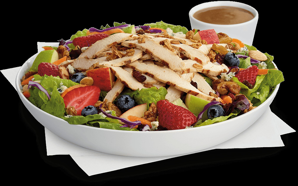 Are Chick Fil A Salads Healthy  Chick Fil A Calories Chart Grilled market salad