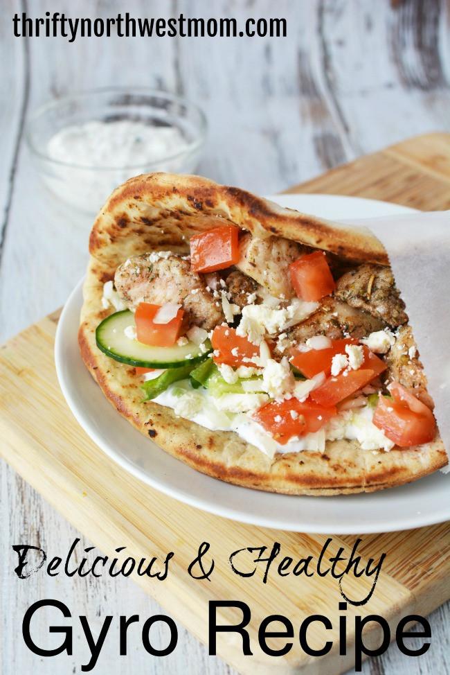 Are Chicken Gyros Healthy  Chicken Gyros Recipe Delicious & Healthy Thrifty NW Mom