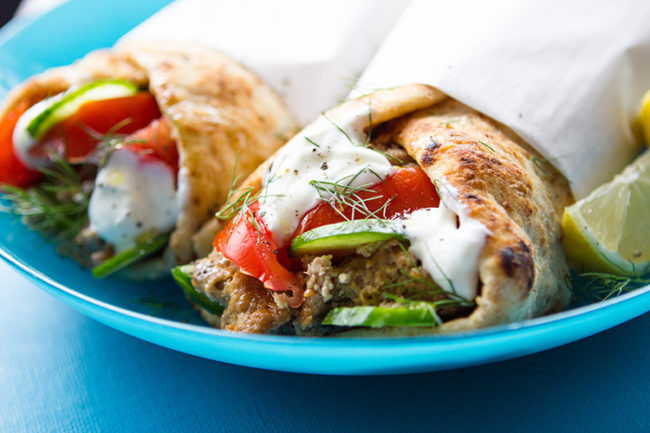 Are Chicken Gyros Healthy  59 Healthy Slow Cooker Dinners Under 400 Calories