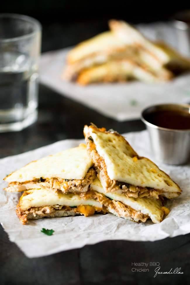 Are Chicken Quesadillas Healthy  Healthy BBQ Chicken Quesadillas