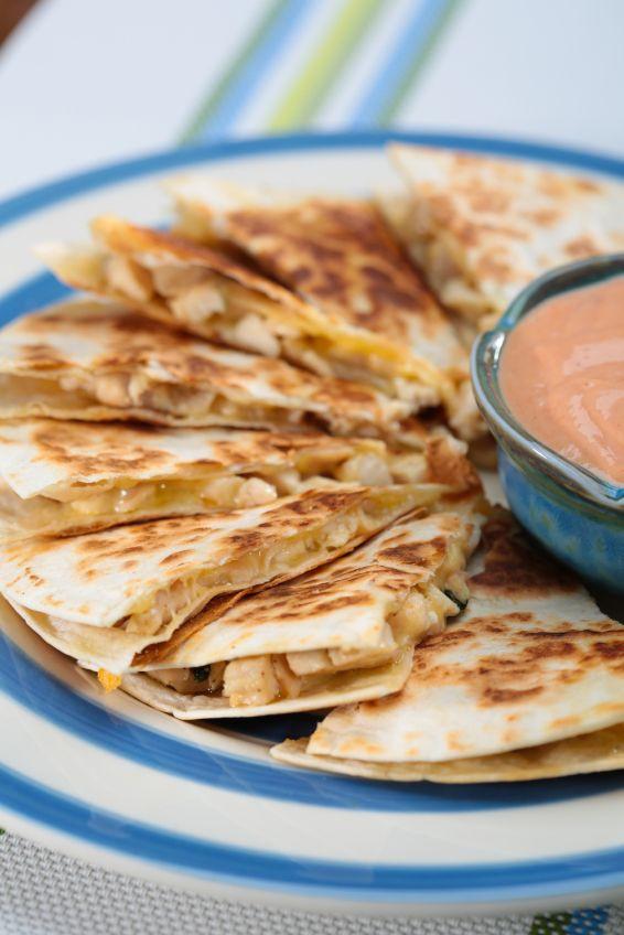 Are Chicken Quesadillas Healthy  Healthy Chicken Quesadillas Recipe — Dishmaps
