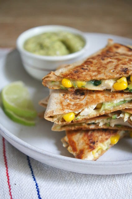 Are Chicken Quesadillas Healthy  Healthy Chicken Quesadillas are Loaded with Ve ables