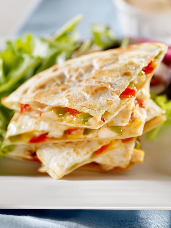 Are Chicken Quesadillas Healthy  Chicken Quesadillas