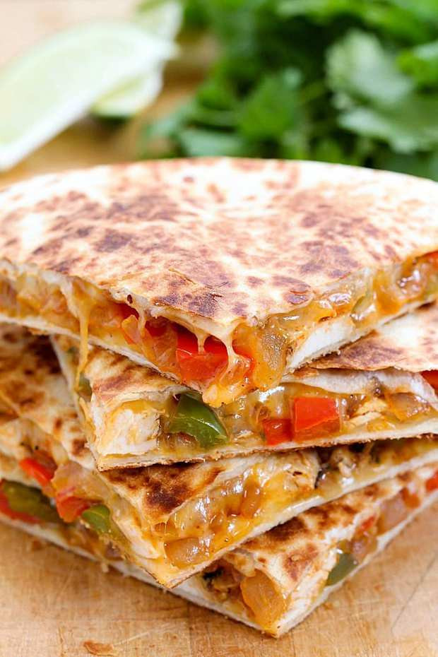 Are Chicken Quesadillas Healthy  The Best Quesadilla Recipes