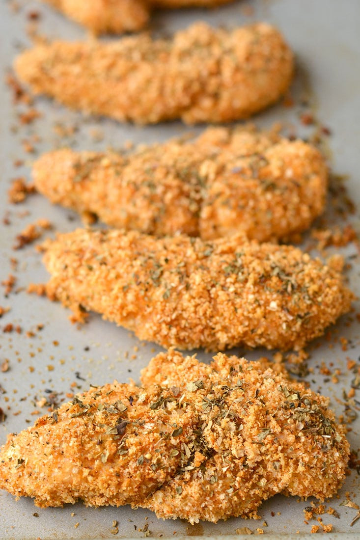Are Chicken Tenders Healthy  10 Minute Healthy Chicken Fingers GF Low Cal Skinny