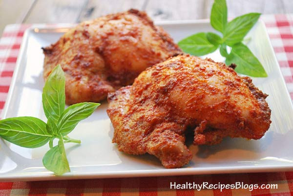 Are Chicken Thighs Healthy  Baked Chicken Thighs