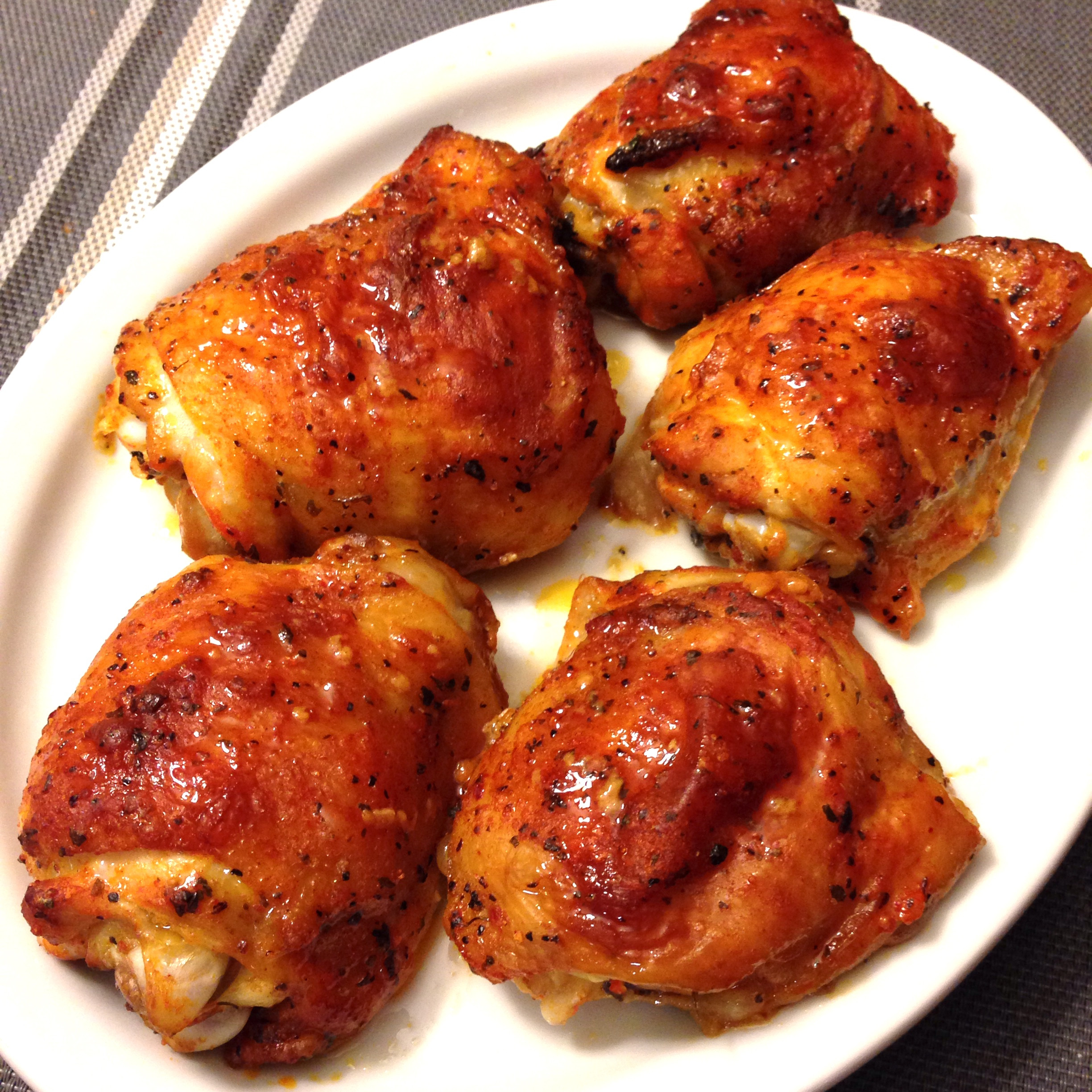 Are Chicken Thighs Healthy  Chili Lime Baked Chicken Thighs — My Healthy Dish