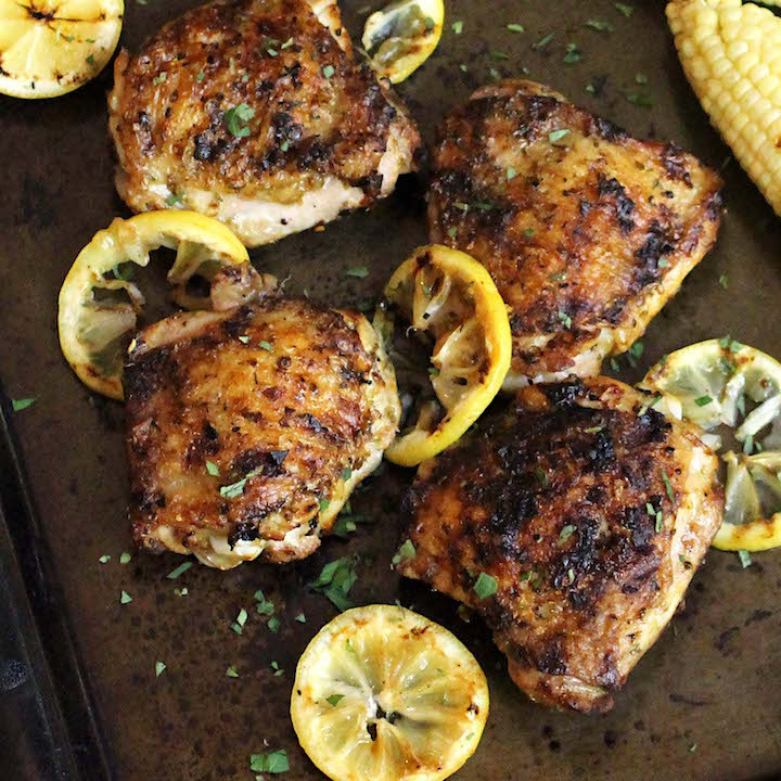 Are Chicken Thighs Healthy  Lemon and Oregano Grilled Chicken Thigh Recipe