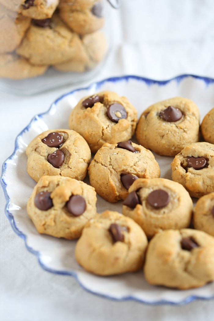Are Chocolate Chip Cookies Healthy  Healthy Chocolate Chip Cookies Eat Yourself Skinny