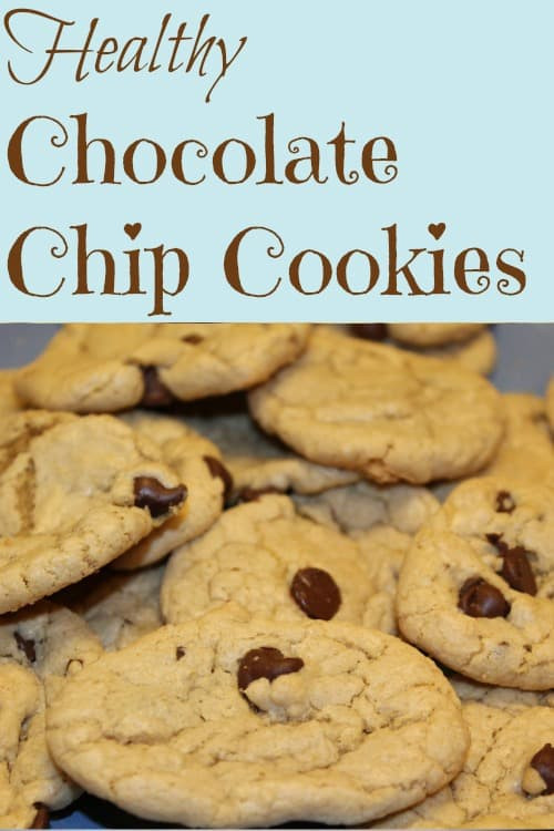Are Chocolate Chip Cookies Healthy  Healthy Oatmeal Chocolate Chip Cookies