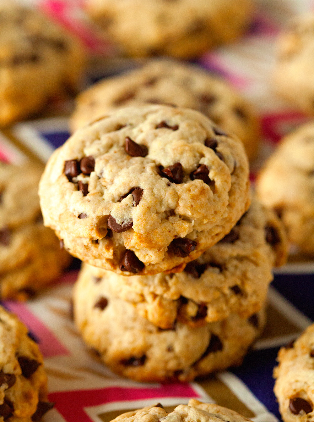 Are Chocolate Chip Cookies Healthy  Unbelievably Healthy Chocolate Chip Cookies