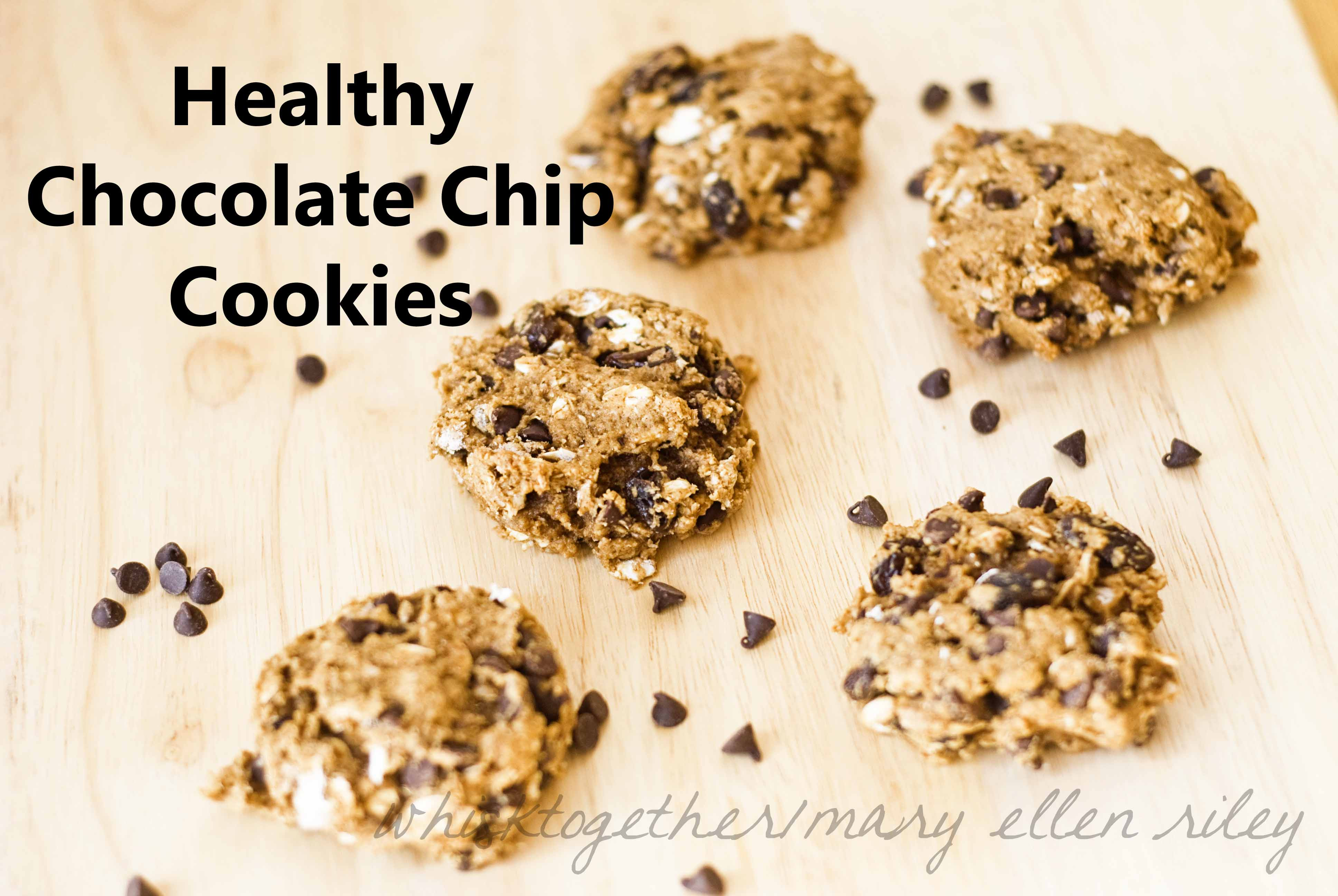 Are Chocolate Chip Cookies Healthy  Healthy Chocolate Chip Cookies