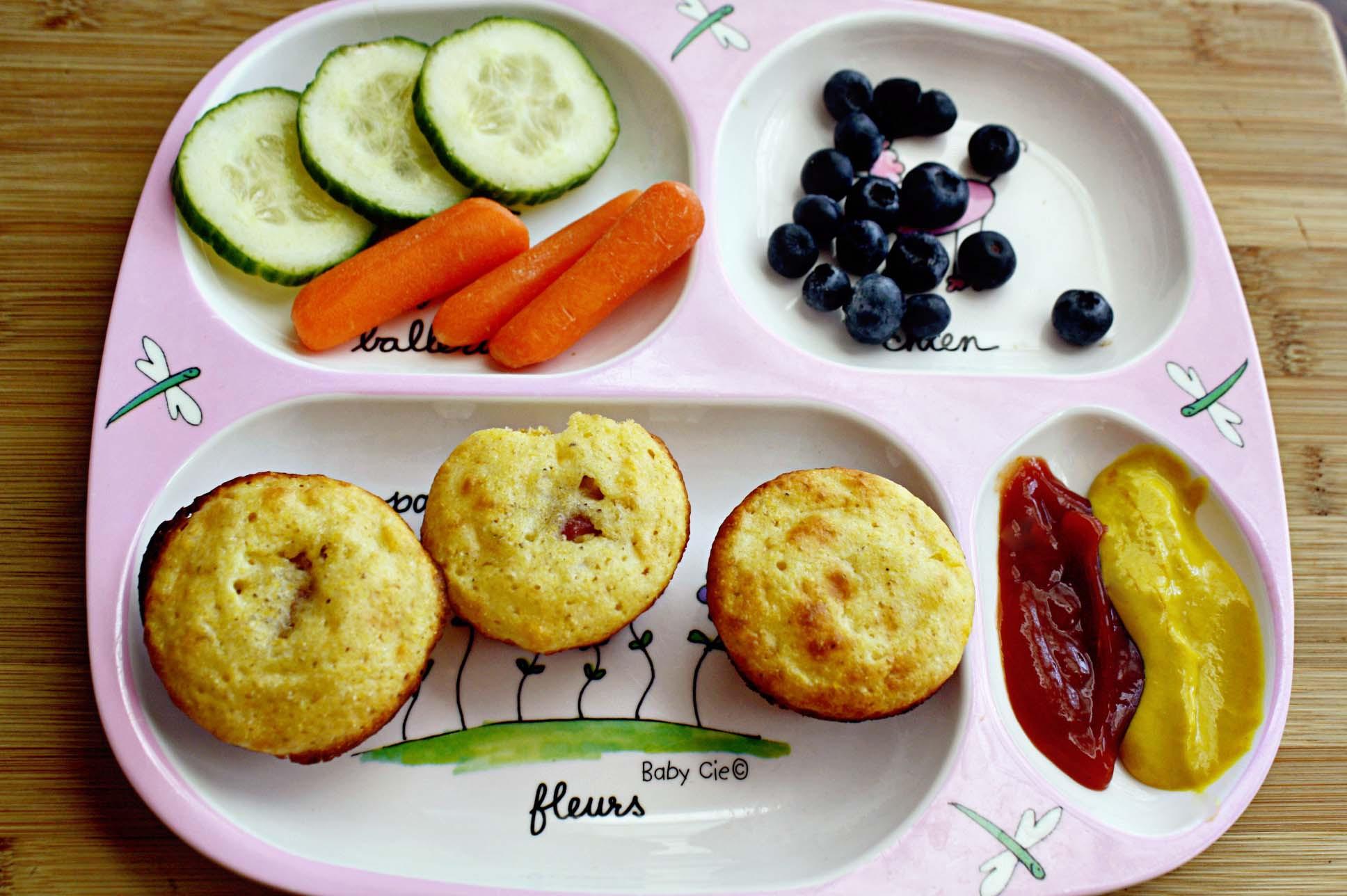 Are Corn Dogs Healthy  Healthy Mini Corn Dog Muffins • Steele House Kitchen