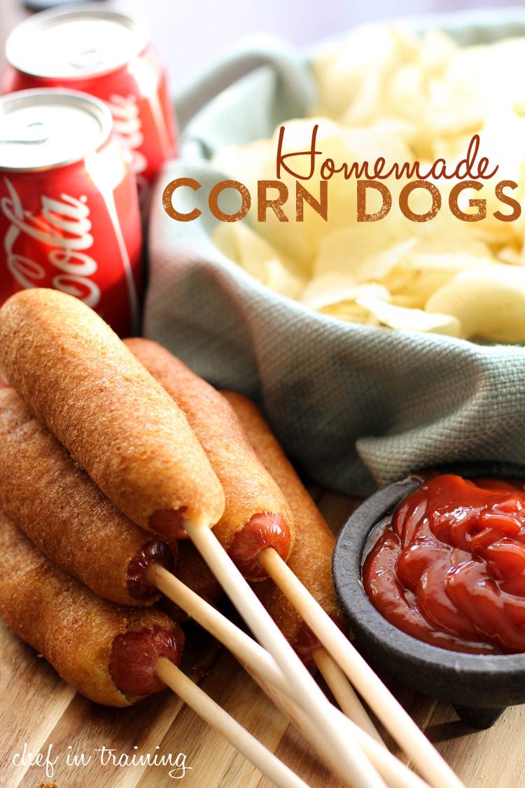 Are Corn Dogs Healthy  Healthy happy and herby Menu Planning Monday