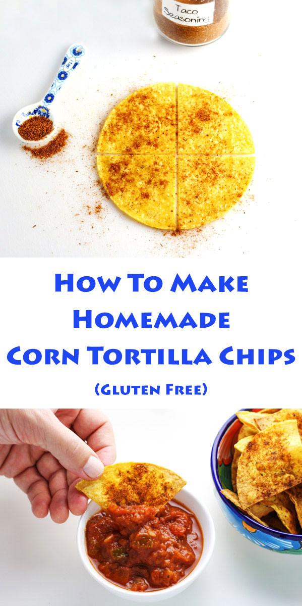 Are Corn Tortillas Healthy  How To Make Homemade Corn Tortilla Chips Tastefulventure