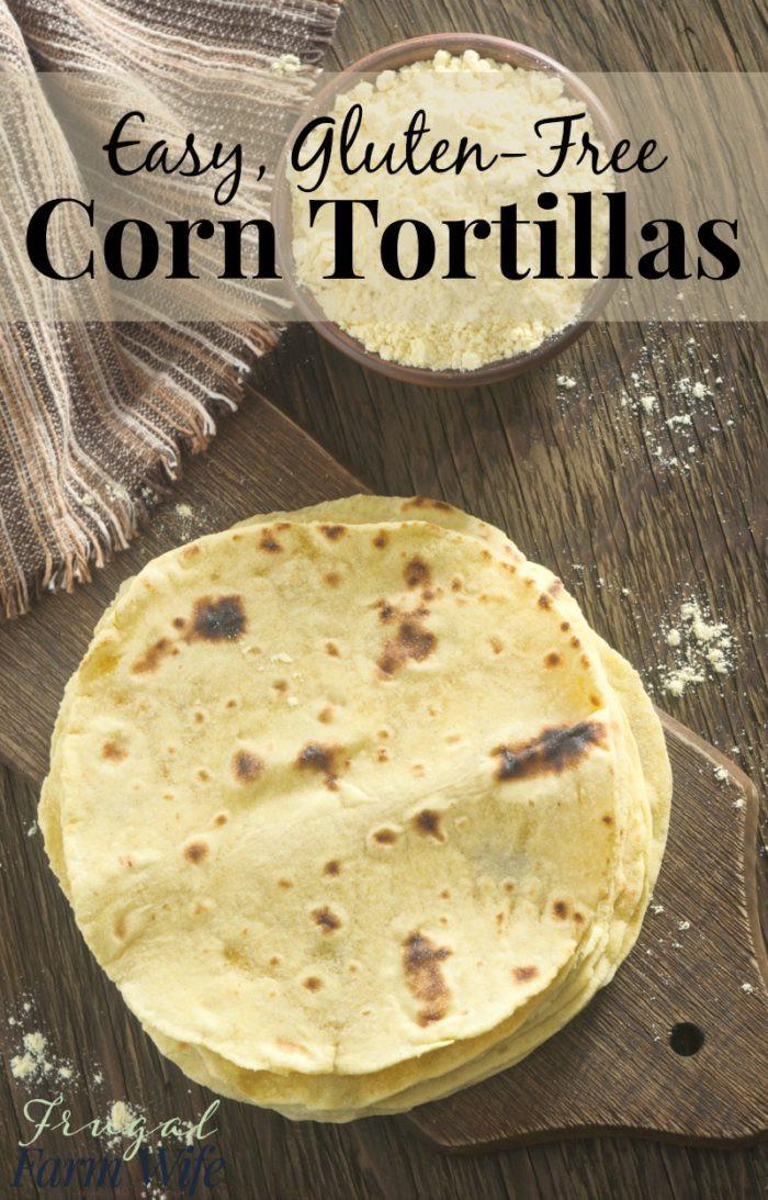 Are Corn Tortillas Healthy  Homemade Corn Tortillas So Easy and Gluten Free