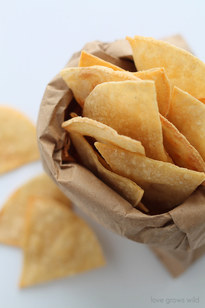 Are Corn Tortillas Healthy  Healthy Chips Baked Chips Recipe