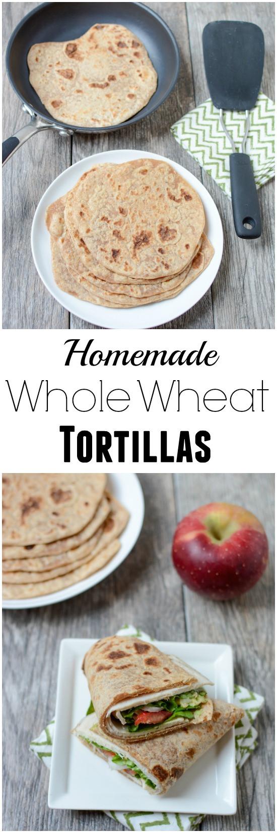 Are Corn Tortillas Healthy  Homemade Whole Wheat Tortillas Recipe