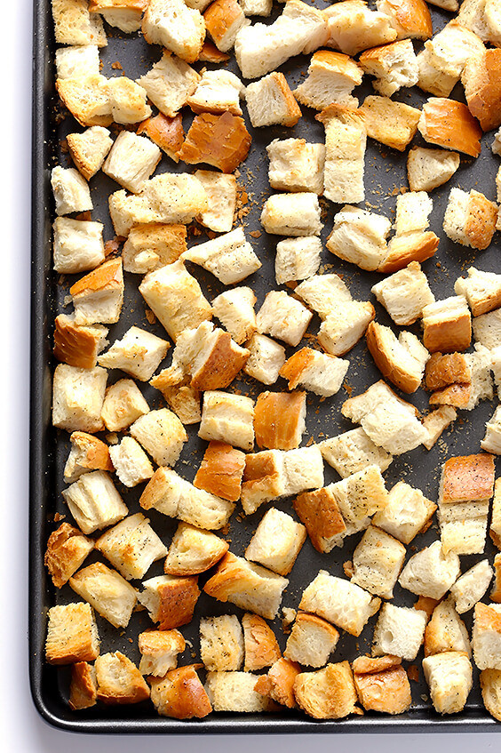 Are Croutons Healthy  How To Make Homemade Croutons