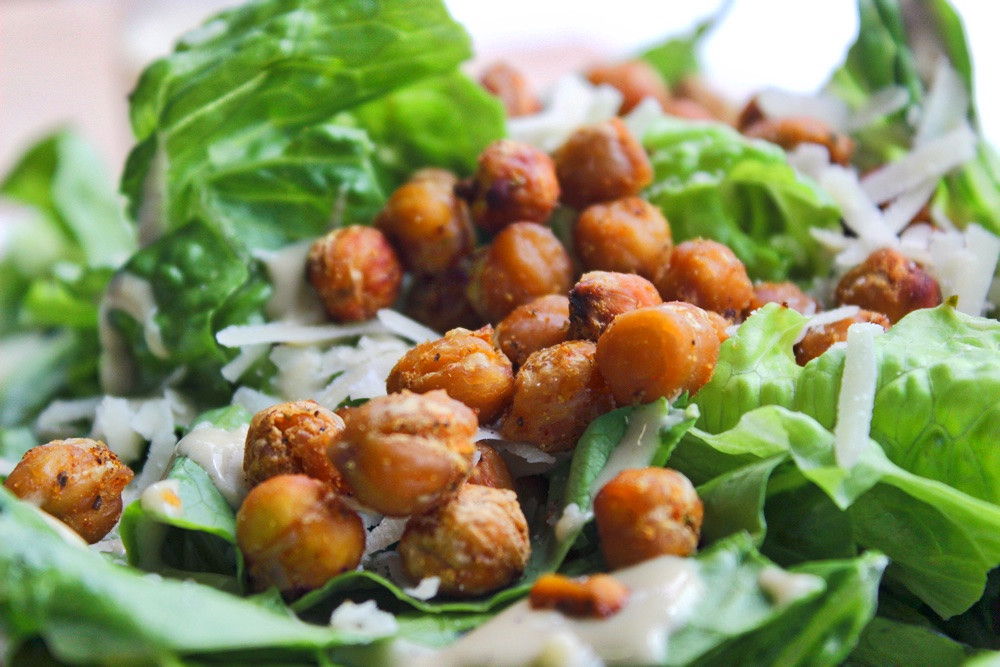 Are Croutons Healthy  ChickPea Croutons