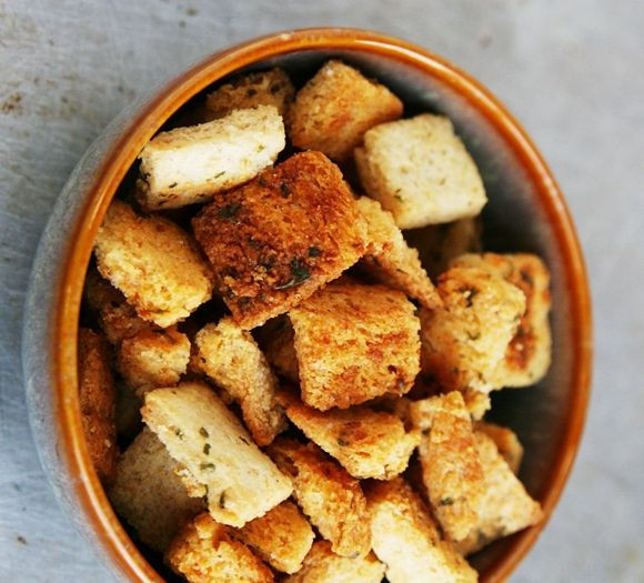 Are Croutons Healthy  17 Best ideas about Homemade Croutons on Pinterest