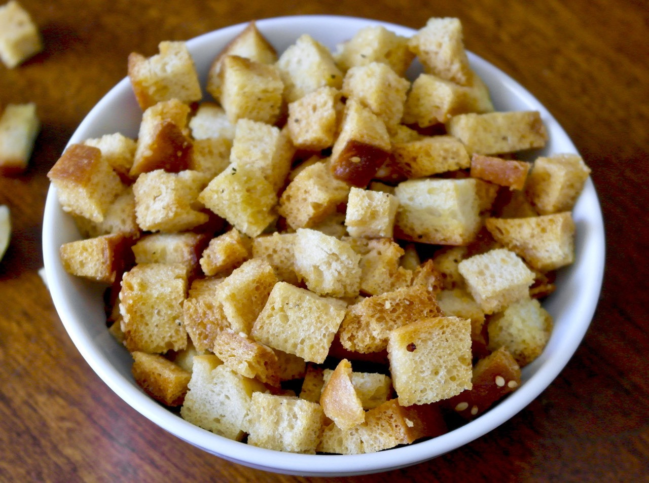 Are Croutons Healthy  Homemade Olive Oil Croutons