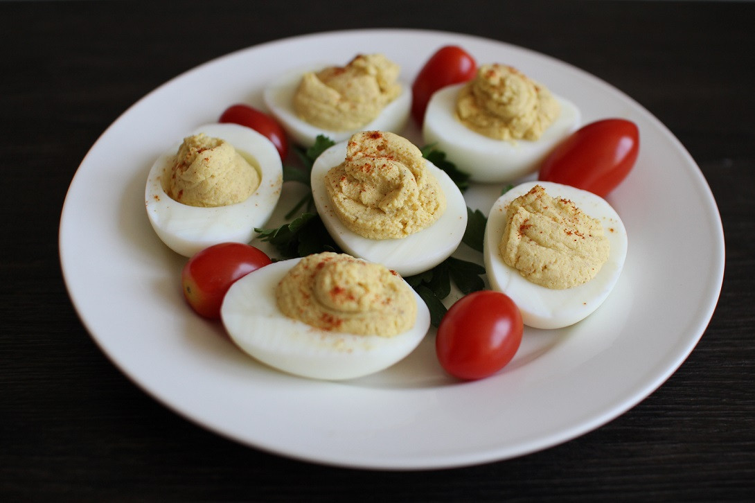 Are Deviled Eggs Healthy  Healthy Deviled Eggs Recipe Righter