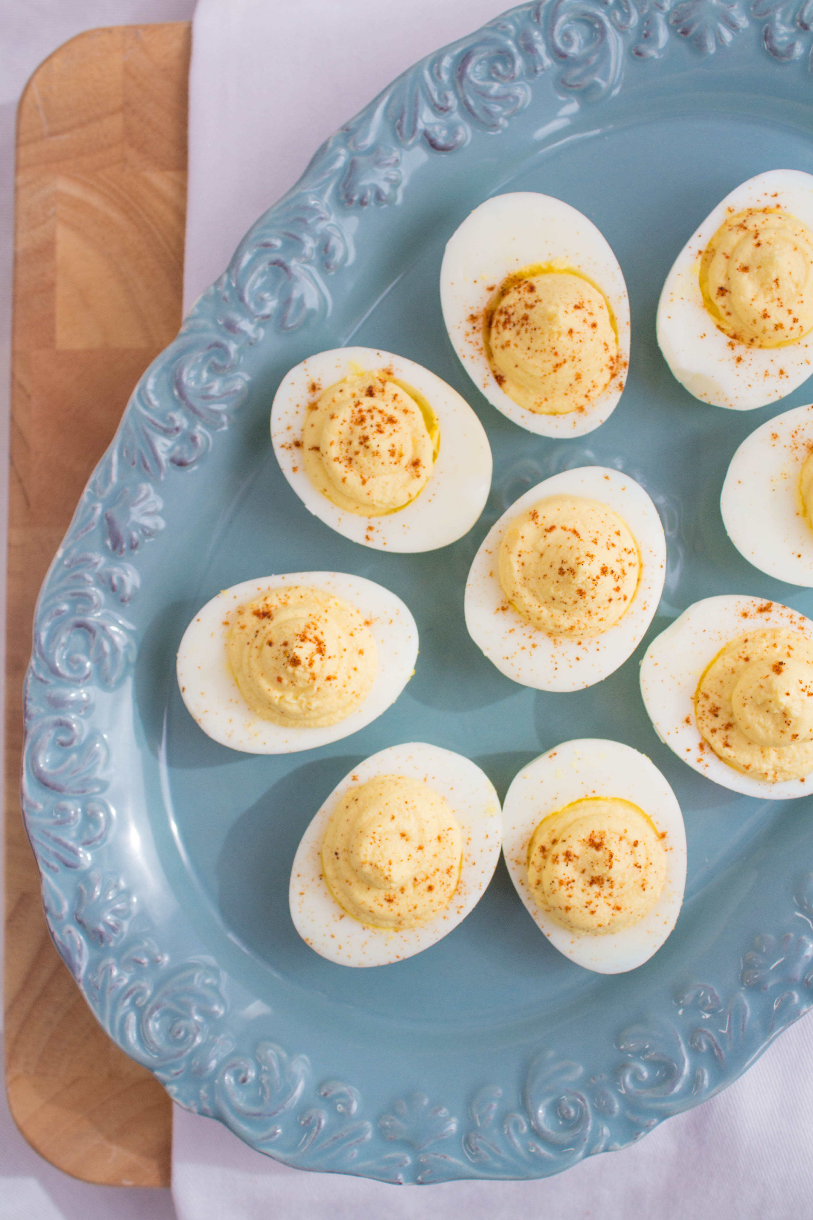 Are Deviled Eggs Healthy  Healthy Deviled Eggs Recipe
