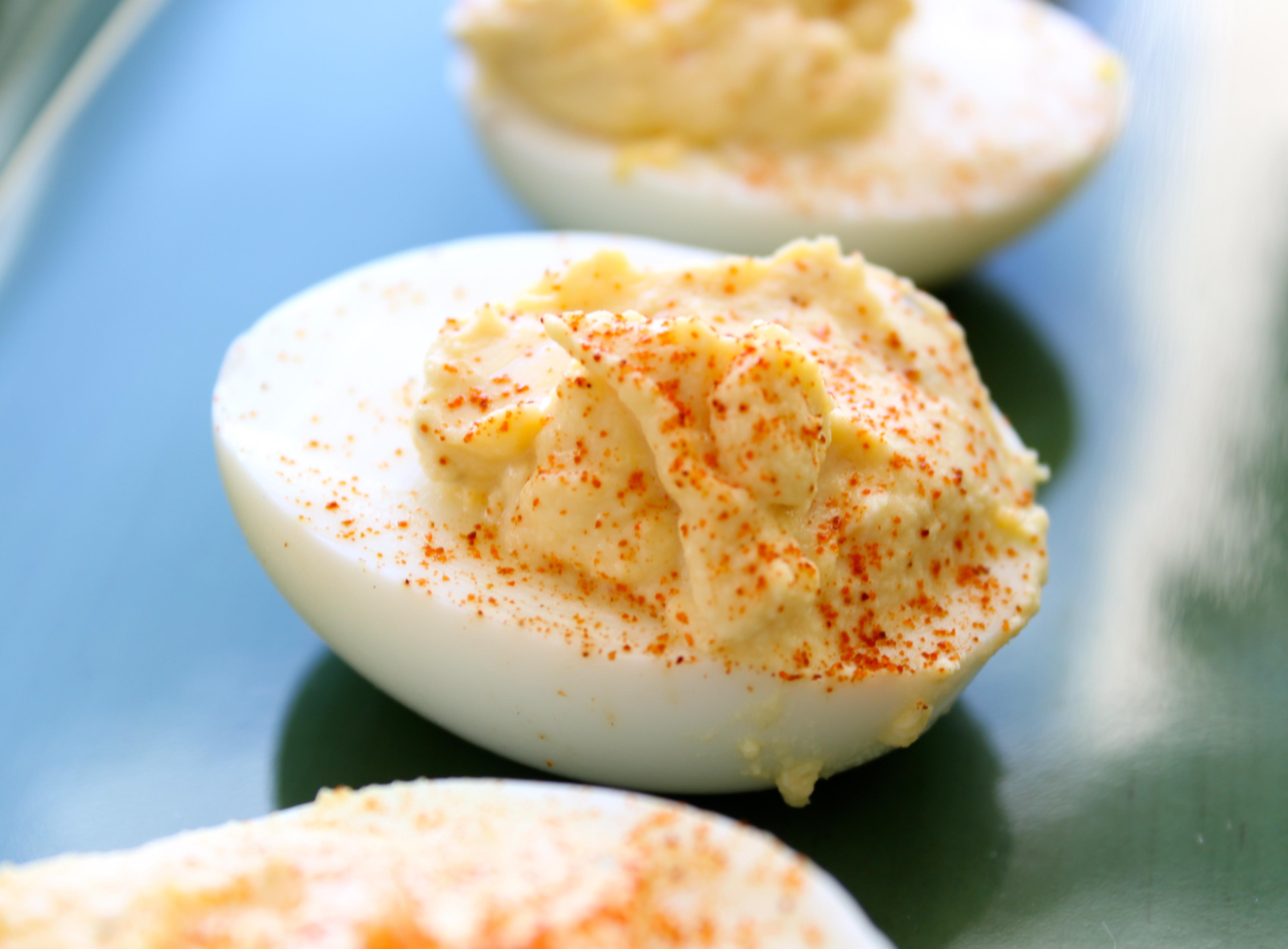Are Deviled Eggs Healthy  Healthy Deviled Eggs – Healthy Mama Happy Mama