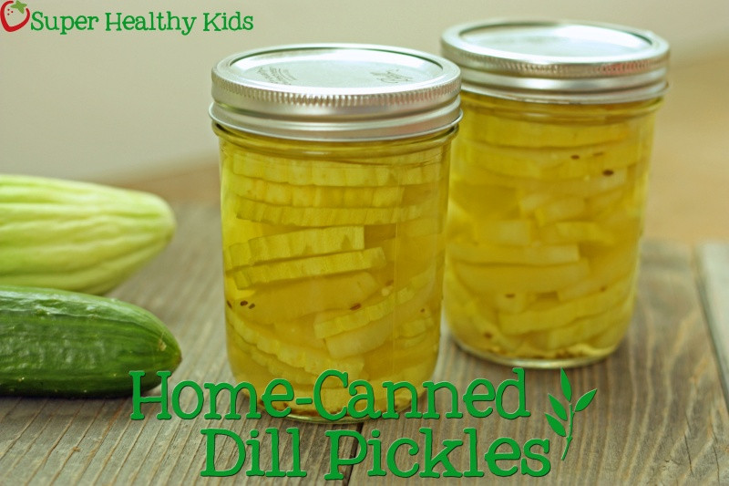 Are Dill Pickles Healthy  Canning Your Own Dill Pickles
