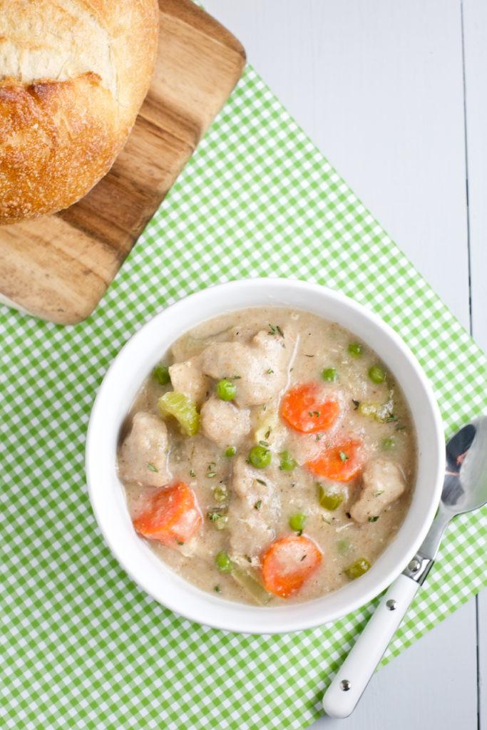 Are Dumplings Healthy  Healthy Irish Chicken and Dumpling Soup Recipe
