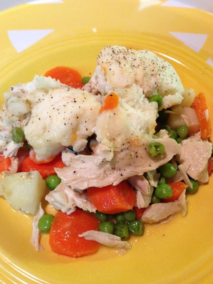 Are Dumplings Healthy  Chicken & Dumplings a lowfat healthy version of a