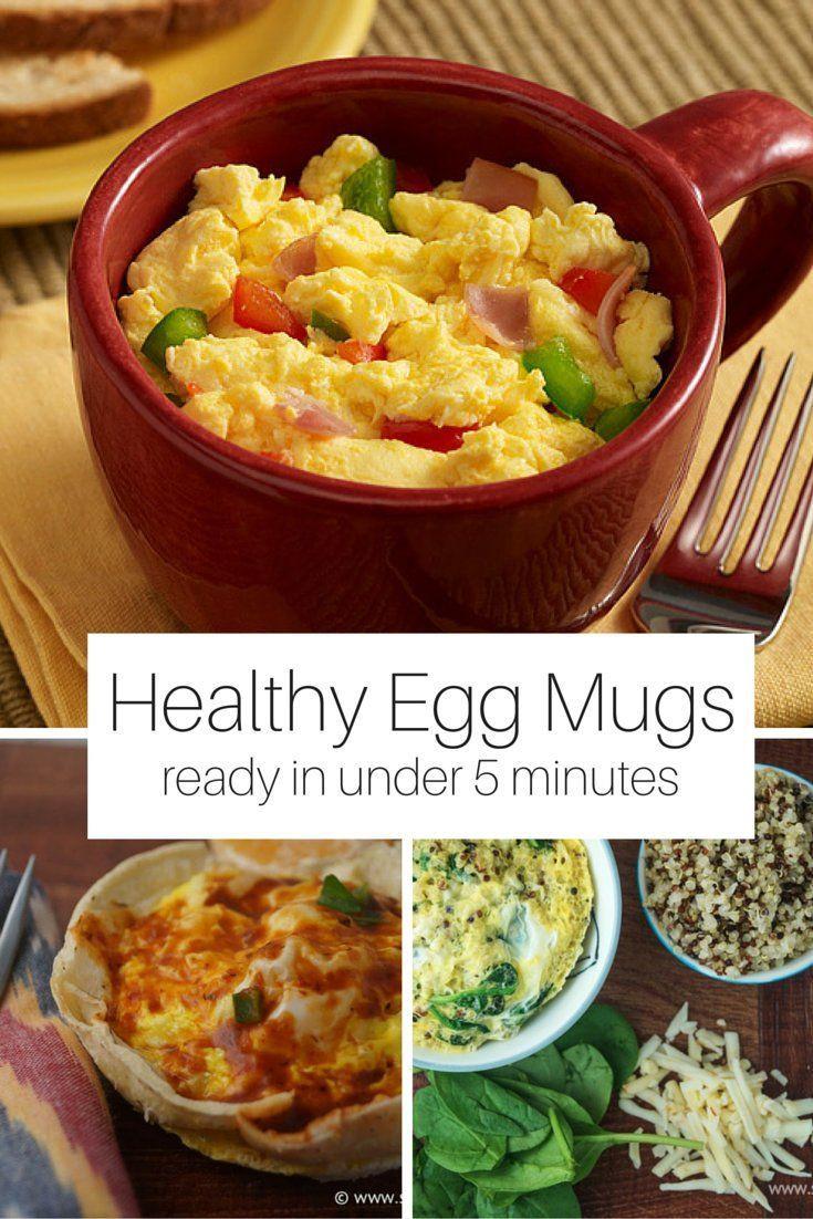 Are Eggs A Healthy Breakfast  Five Healthy Breakfast Egg Mugs