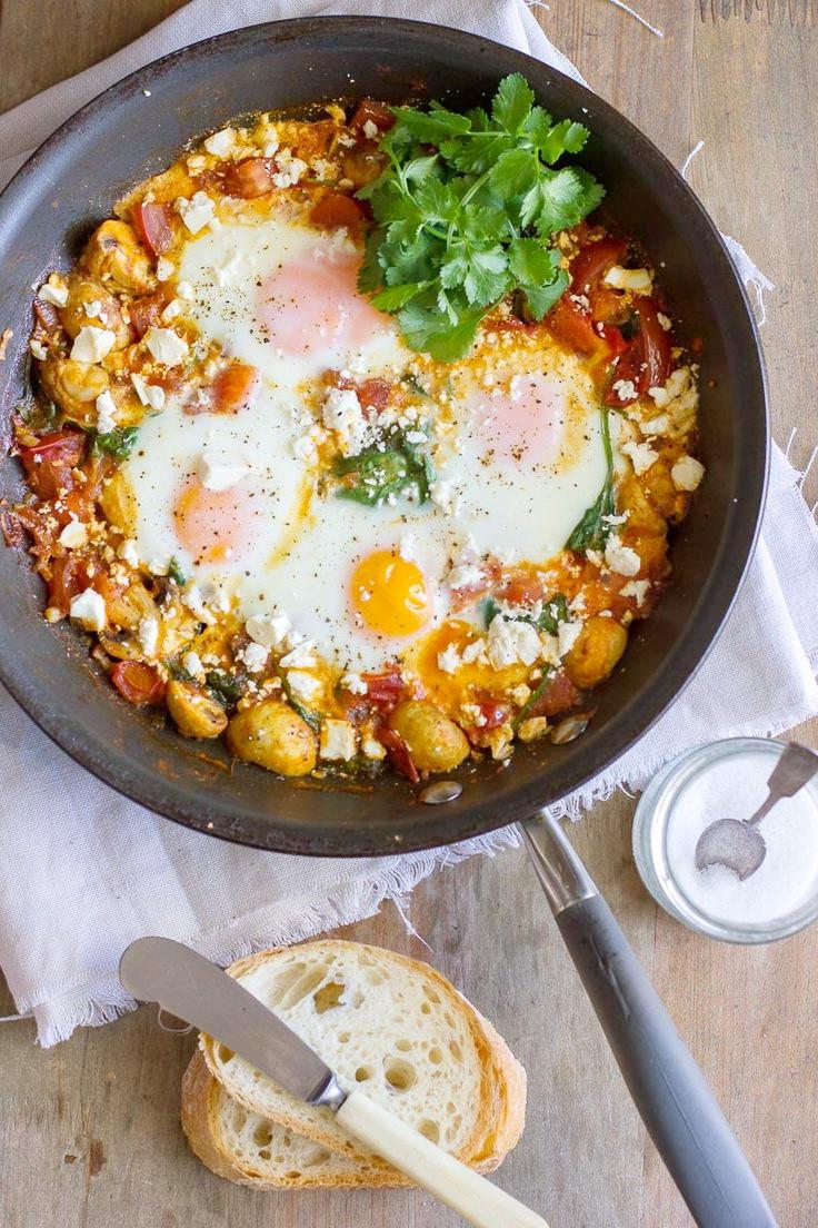 Are Eggs A Healthy Breakfast  Baked Veggies & Egg Breakfast – Best Healthy Calorie Diet