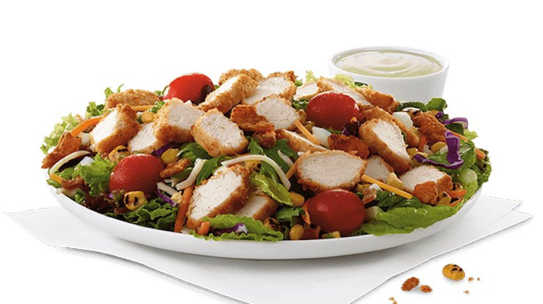 Are Fast Food Salads Healthy  Fast food salads that are extremely unhealthy