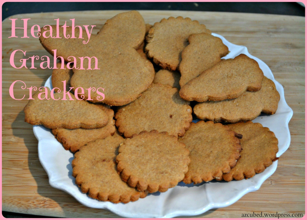 Are Graham Crackers Healthy  Guest Blog Healthy Homemade Graham Crackers Domestic