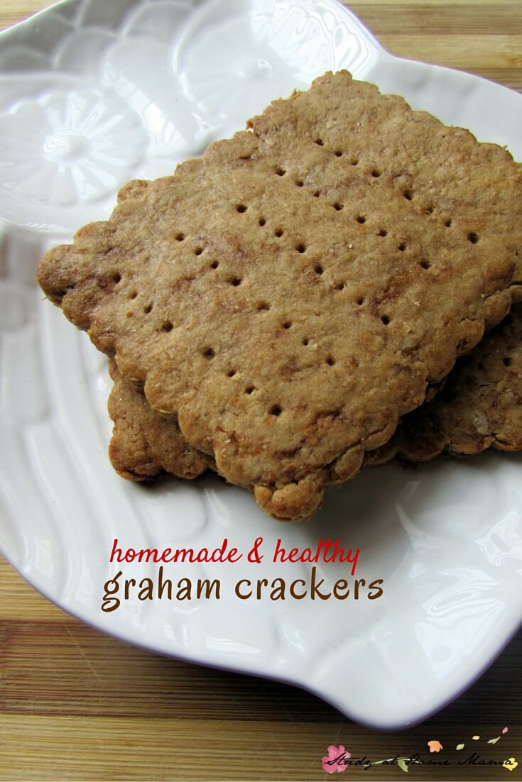 Are Graham Crackers Healthy  Healthy Graham Cracker Recipe ⋆ Sugar Spice and Glitter
