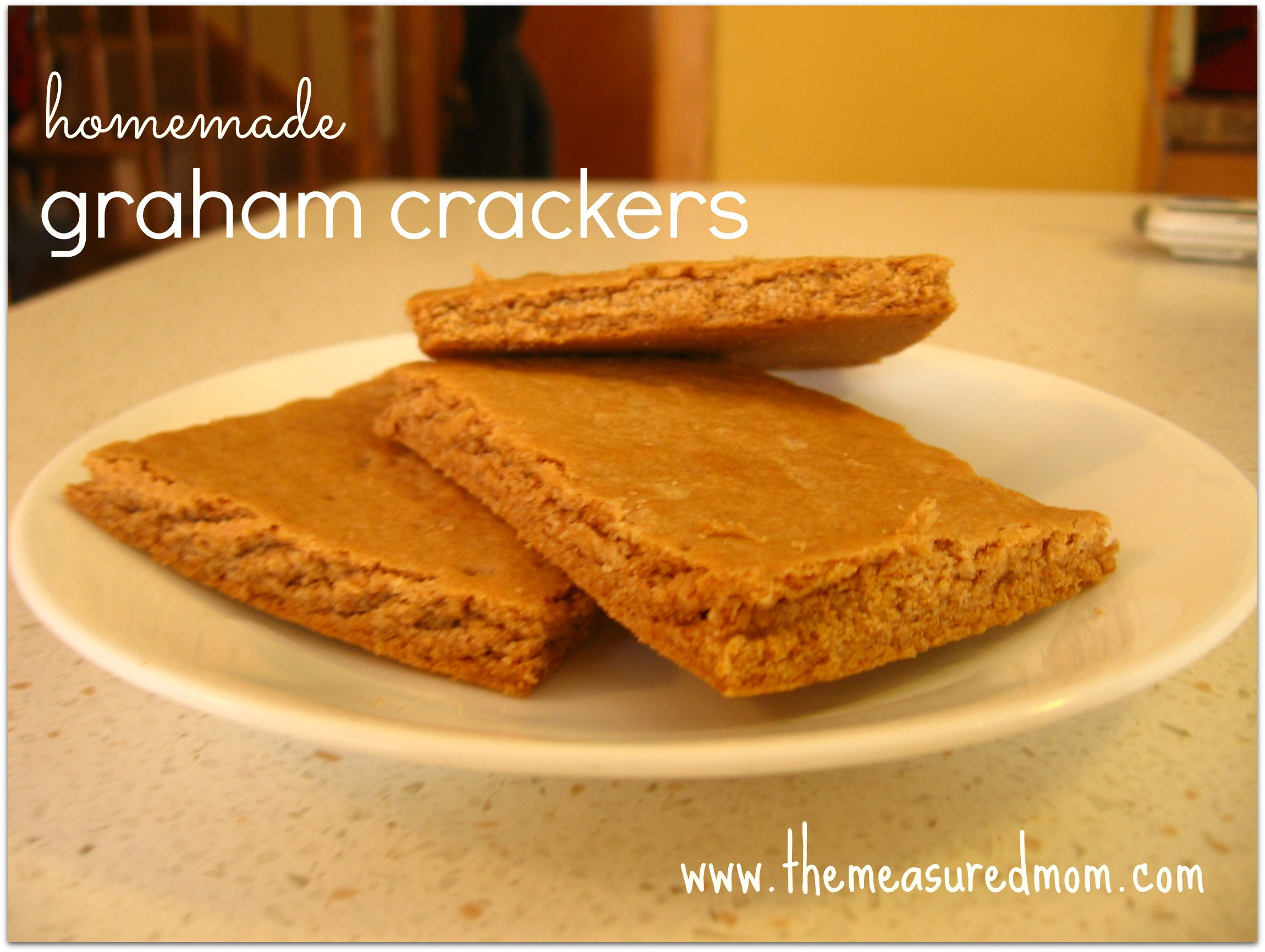Are Graham Crackers Healthy  Homemade Graham Crackers The Measured Mom