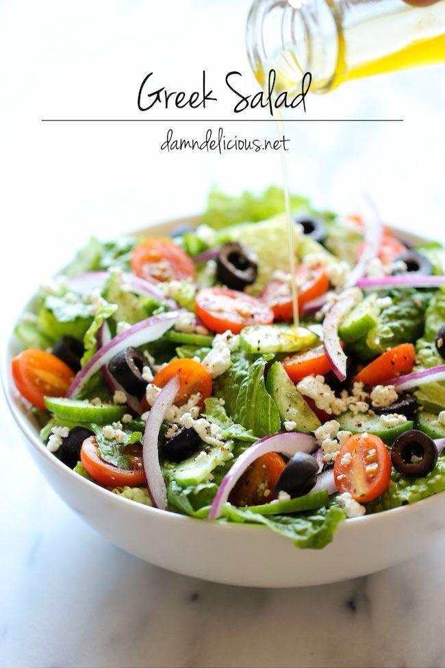 Are Greek Salads Healthy  HEALTHY Greek Salad Let s EAT