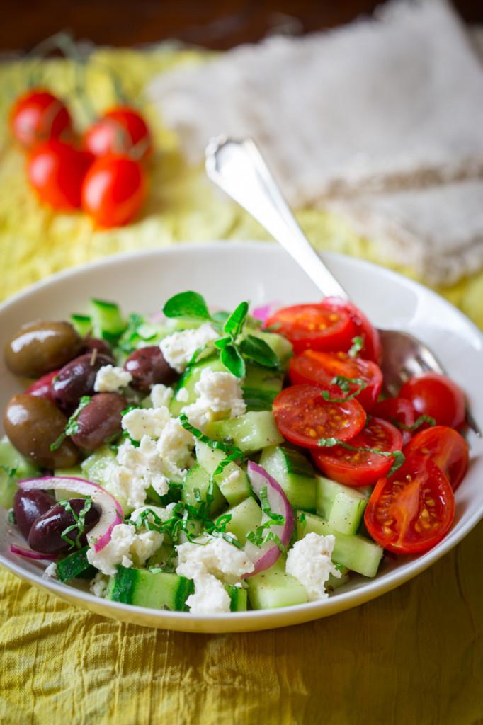 Are Greek Salads Healthy  15 minute greek cucumber salad Healthy Seasonal Recipes