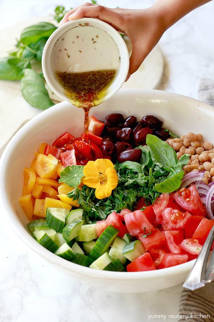Are Greek Salads Healthy  Healthy Vegan Greek Salad Yummy Mummy Kitchen