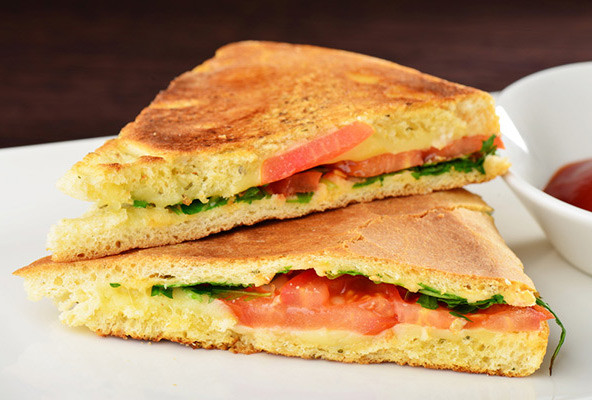 Are Grilled Cheese Sandwiches Healthy  A Healthier Grilled Cheese Sandwich Without Butter and