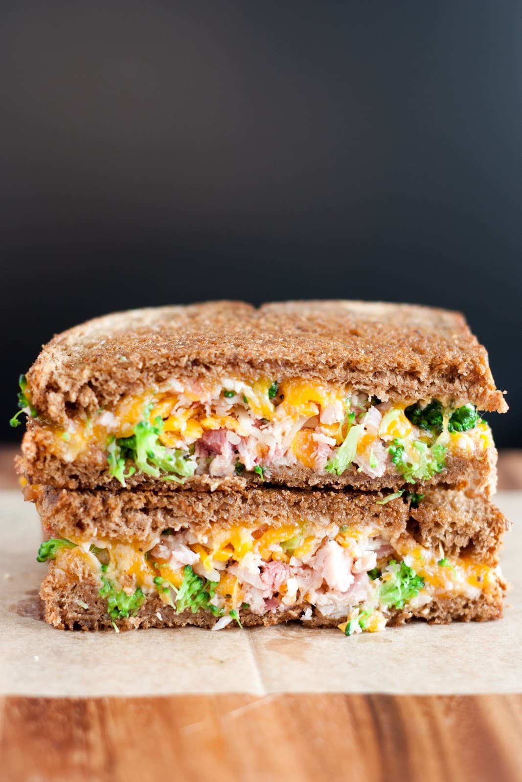 Are Grilled Cheese Sandwiches Healthy  Broccoli Ham Grilled Cheese Sandwich Cooking Classy