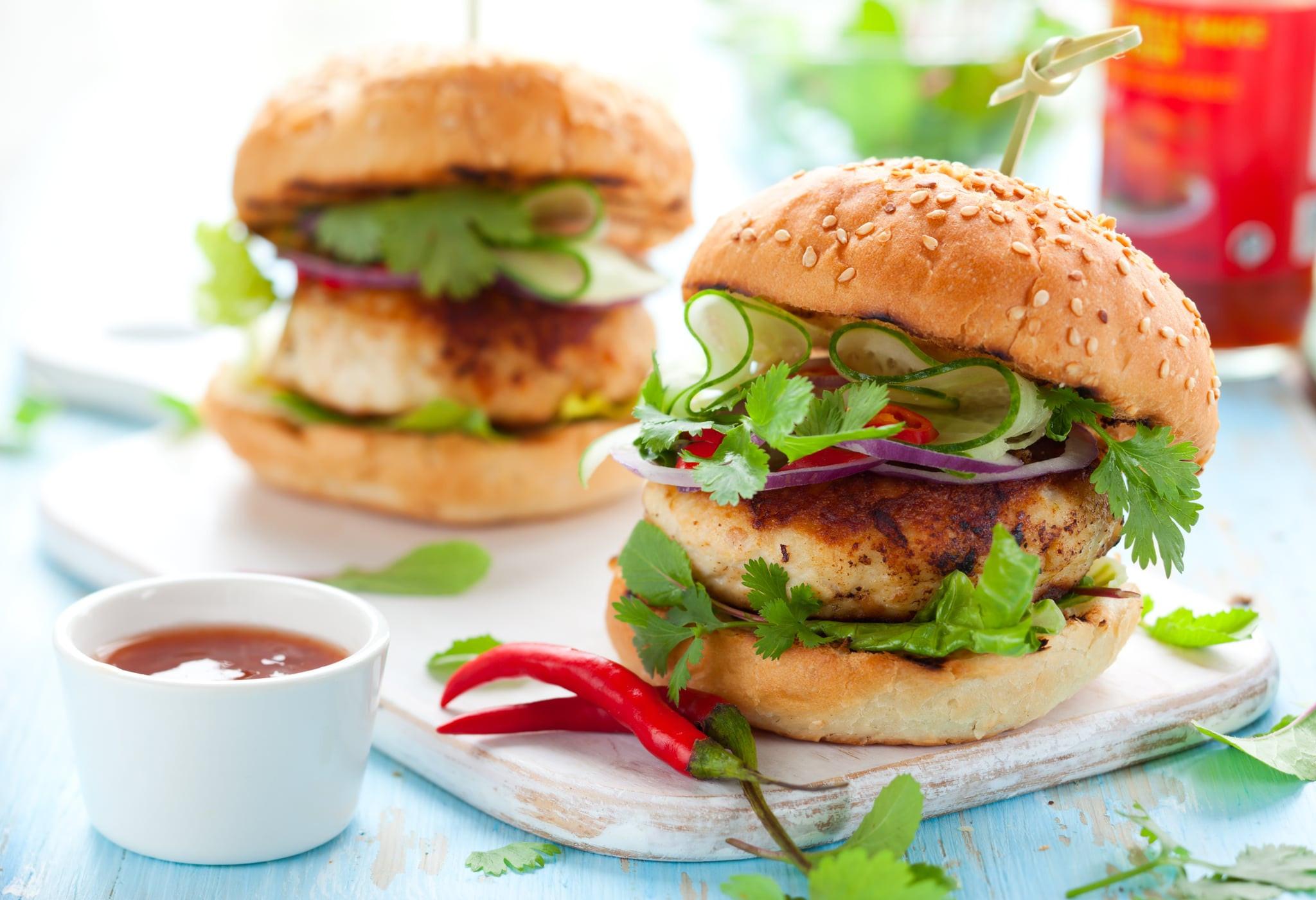 Are Hamburgers Healthy  Healthy BBQ Turkey Burger