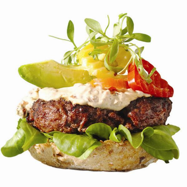 Are Hamburgers Healthy  Stealthy healthy burger recipe Chatelaine