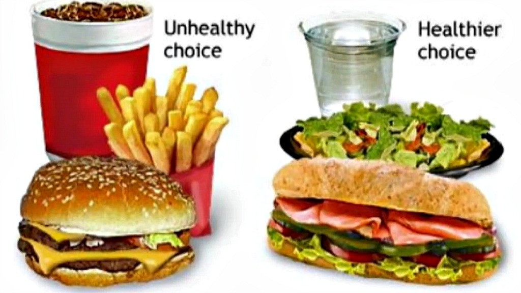 """Are Hamburgers Unhealthy  McDonald's warns its own employees not to eat """"unhealthy"""