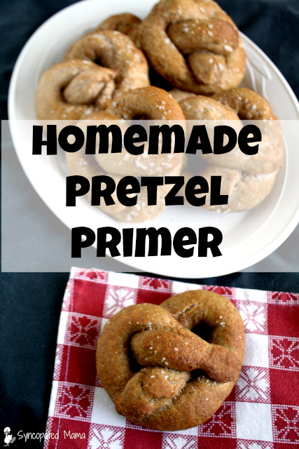 Are Hard Pretzels Healthy  Syncopated Mama Healthy Homemade Hard & Soft Pretzel Primer